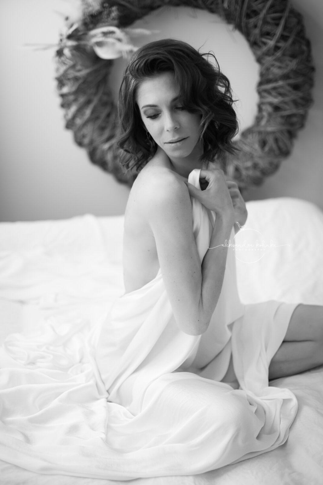 Sensual Frauenportrait im Fotostudio Rapperswil Jona