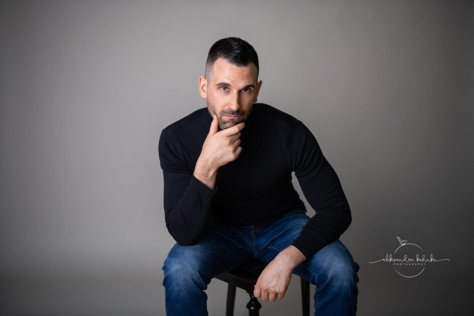 Portraitshooting für Männer