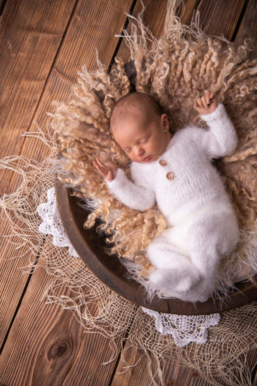 Babyshooting und Familienbilder im Fotostudio Erlen