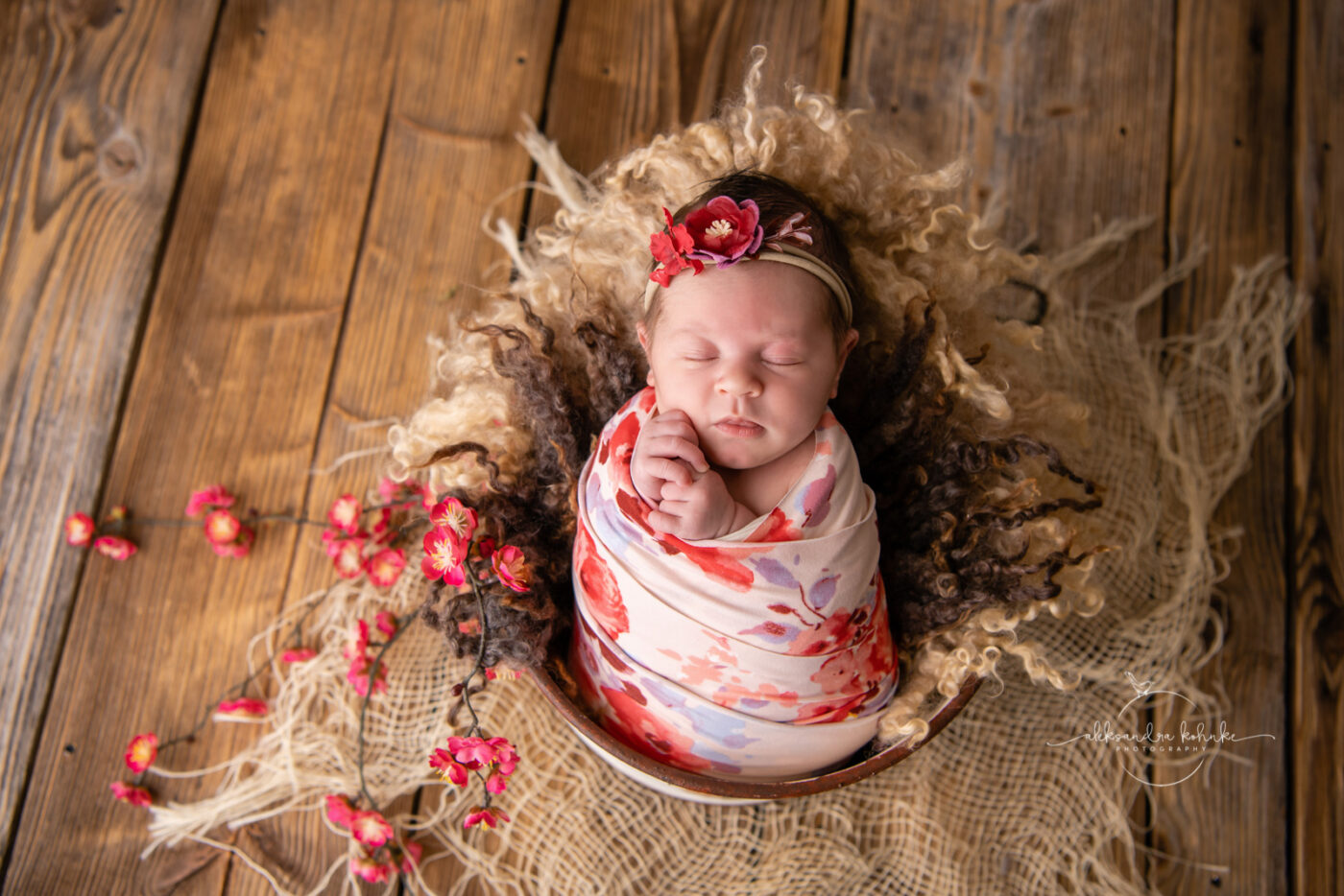 Newbornshooting im Fotostudio Rapperswil-Jona.